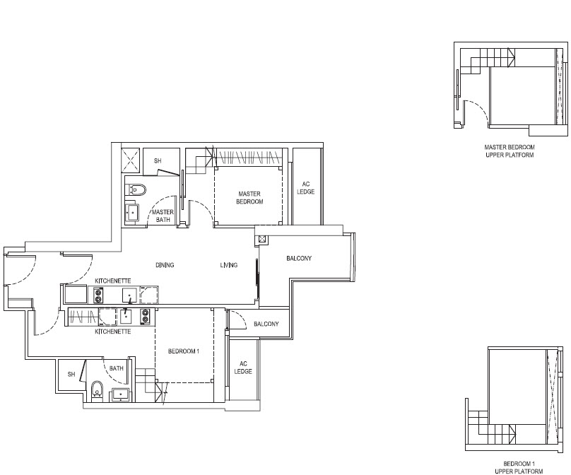 2 Bedroom DK