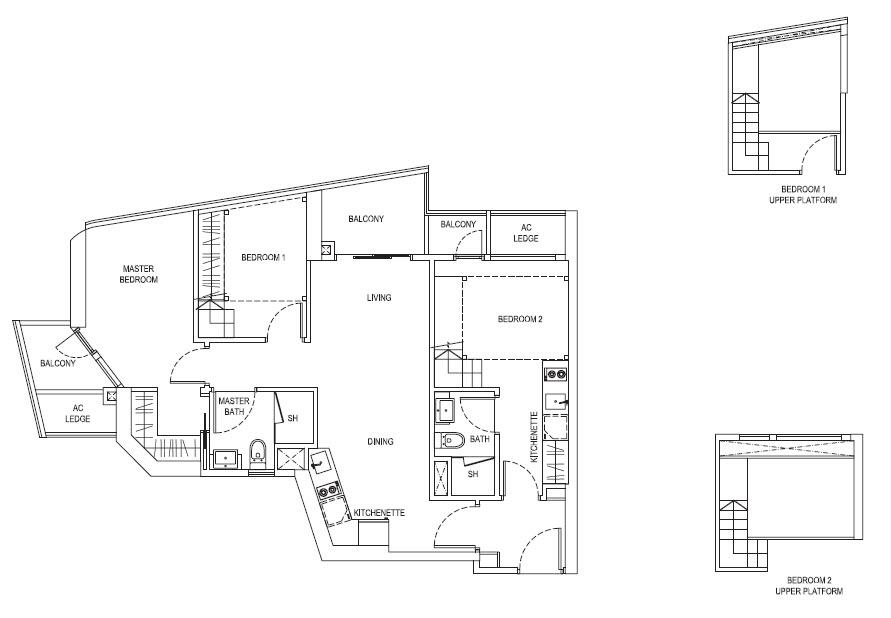 3 Bedroom DK
