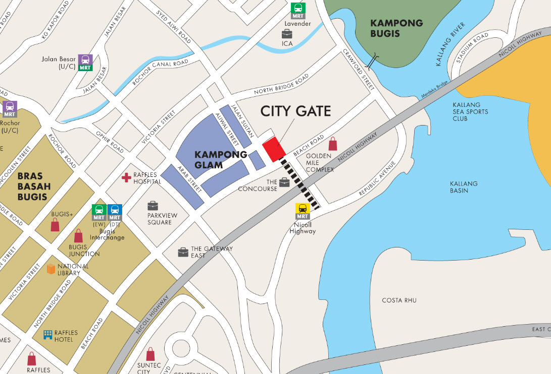 City Gate Location